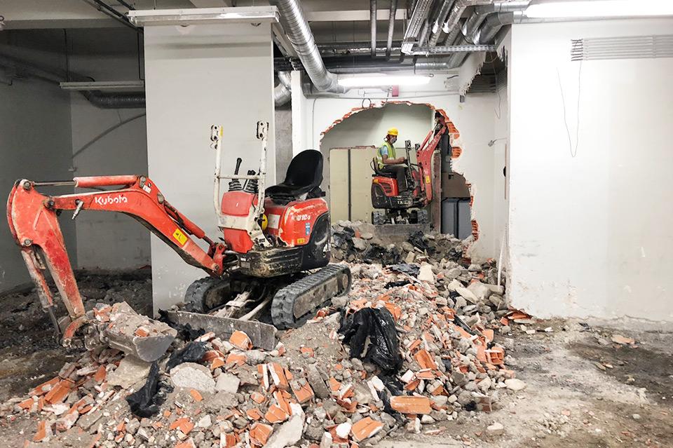Serviços de demolições