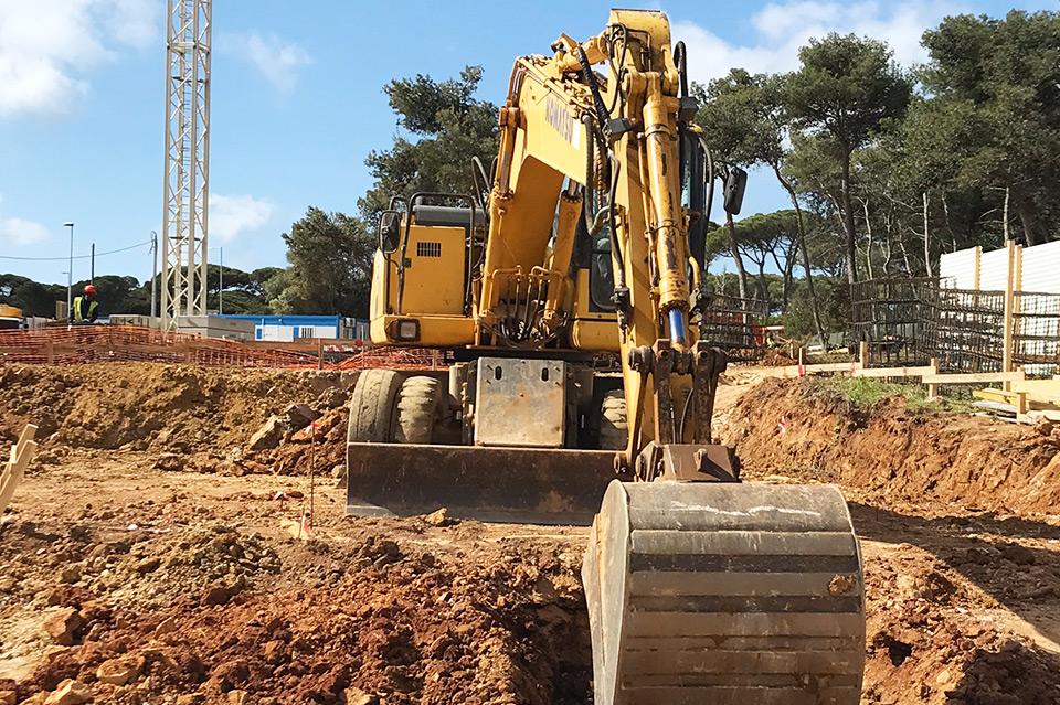 Serviços de terraplanagem em Lisboa